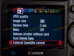 1D MarkIV External Speedlight Control Menu Change