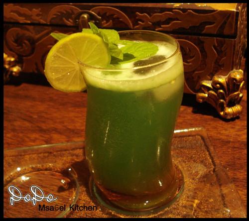 عصير ليمون - عصير الليمون مع النعناع