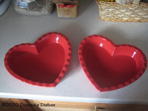 Heart Baking Dishes