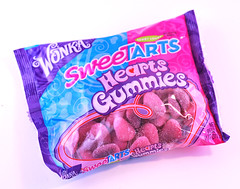 Wonka Sweetarts Hearts Gummies Bag