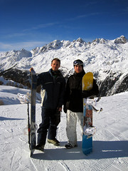 Survived to the last day (JasonCondie) Tags: travel friends italy mountain snow france mountains snowboarding bars scenery skiing dancing drinking alpine skiresort bowling clubs superheroes pubs breakdancing chamonix icicles boarding montblanc stunts 20splenty january2010