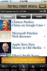 Post image for WSJ – What will replace it?