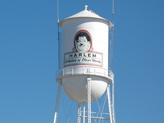 The Harlem, GA water tower
