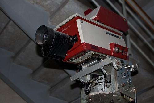 Senovinė Sony TV kamera