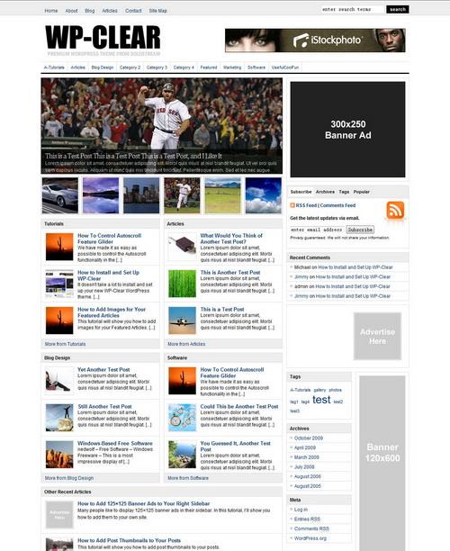 Clear   SoloStream Premium WordPress Theme