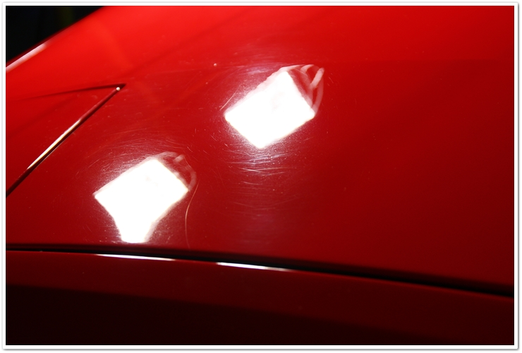 Ferrari 355 GTS scratches