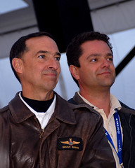 Brian Binne and Pete Siebold. Credit Claire Brown (Virgin Galactic) Tags: spacetravel richardbranson vssenterprise virgingalacticss2