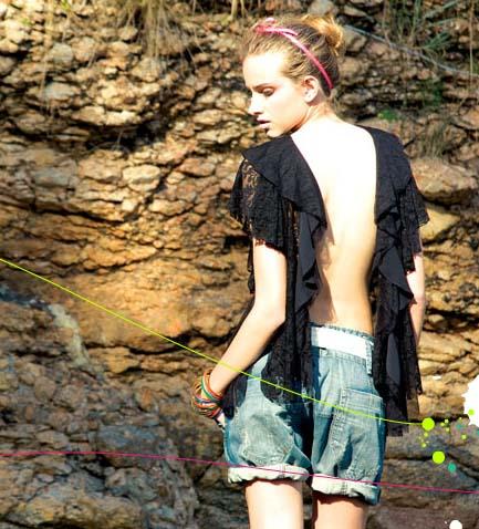 Moda Carioca para mujer, Botswana