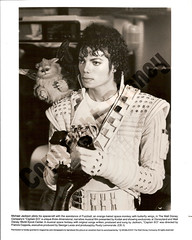 Captain EO and Fuzzball