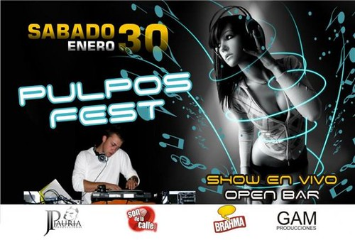 Pulpos Fest - Playa Pulpos