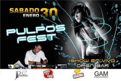 Pulpos Fest - Playa Pulpos