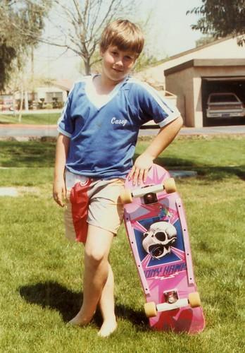 Casey's New Skate Board004 by fotofreddie1.