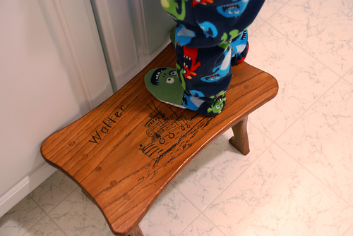 Step stool from Grandpa