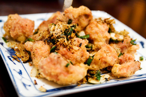 Salted crispy chicken