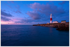 Portland Bill Lighthouse (tuxahanoi) Tags: lighthouse sunrise portland dorset portlandbill southwell
