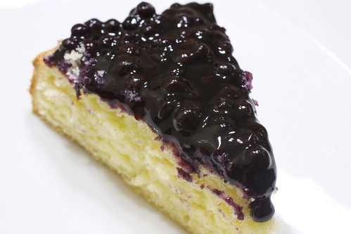 Blueberry Topped Slice 4