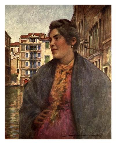 025- Una mujer del pueblo-Venice – 1904-Dorothy Menpes