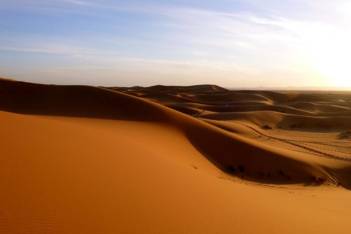 Dunas de Erg Chebbi - Deserto Saara Marrocos