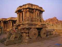 583. Hampi (1): Vijaya Nagara, City of Victory (profmpc) Tags: india art history architecture ruins stonecarving greatshot hm karnataka hampi charriot 5photosaday vijayavittalatemple vijayangara bestofmyphotos krishnadevarayar