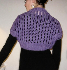 Ribbed Lace bolero2
