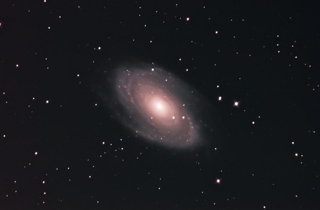 M81 Spiral Galaxy