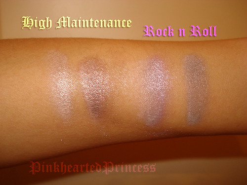 Hard Candy Kaleyedescope swatches