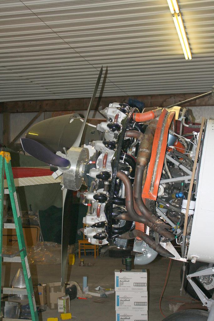 Beechcraft Model 18 being Restored