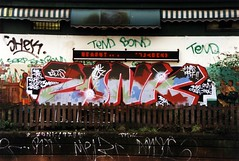 Zonk (West Hampstead) (iamdek) Tags: turn idea bond shek trick teach cosa bozo zomby fume dds zonk allcity figz