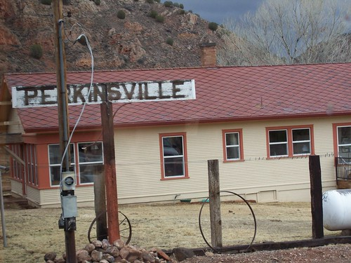 Perkinsville - this is now whats left of it