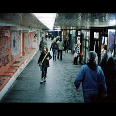 - (OverdeaR [offline 'til July]) Tags: life street people urban 120 film by analog mediumformat walking dof shots candid streetphotography scan belgrade everyday passage beograd mamiya645 kodakportra400nc 8019 mamiya6451000s 80mmf19 labscan fujifrontier mamiyasekorc80mmf19 sekorc8019 tungtseen