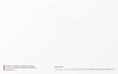 march 2010 desktop wallpaper. Desktop Wallpaper: March