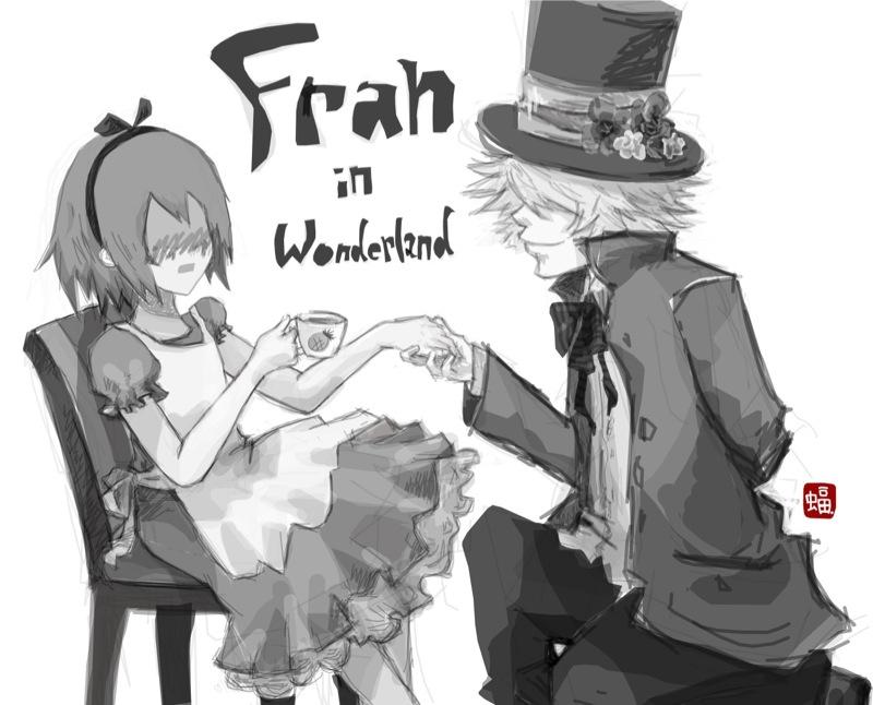 Fran in Wonderland