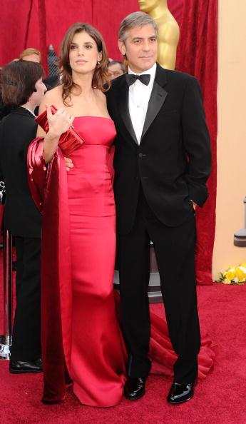 Oscar Elisabetta Canalis George Clooney