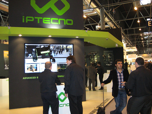 In the IPtecno booth at SICUR 2010 5