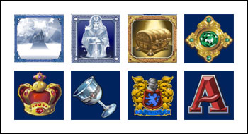 free Avalon slot game symbols