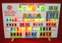 Christmas light store display (JeffCarter629) Tags: christmas christmaslights vintagechristmas gechristmaslights geadvertisments