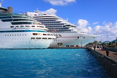 Carnival Dream - Eastern Caribbean Cruise (oxfordblues84) Tags: sky water clouds port dock bahamas nassau majestyoftheseas carnivaldream