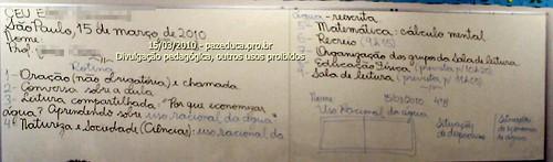 Rotina Prevista - 15/03/2010