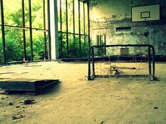 Gym in the abandoned city. Pripyat' / Chernobyl, Ukraine (Daniel Kliza) Tags: city plant abandoned power nuclear ukraine powerplant zona zone reactor iaea chernobyl abandonedcity thezone pripyat