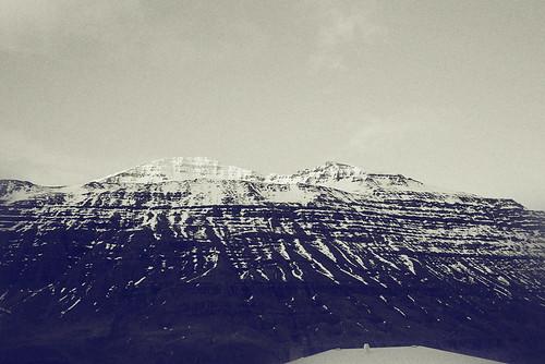 Seyðisfjörður mountain