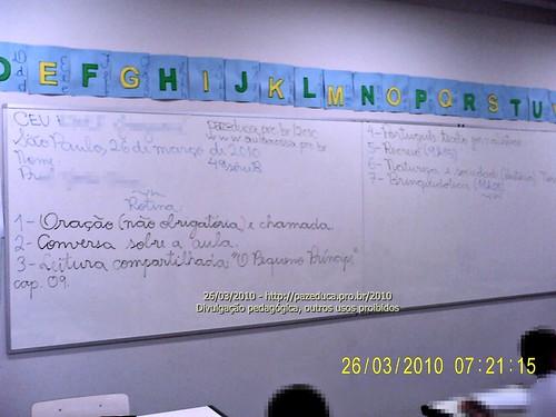 Rotina Prevista - 26/03/2010.