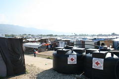 Red Cross water and shelter in Haiti
