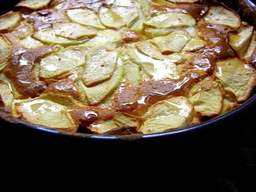Apple tart/cake