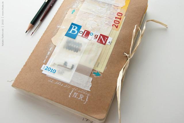 Bologna travel book, cover