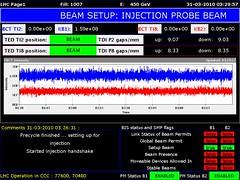 LHC1 2010/03/31 02:30:00 (LHC logs) Tags: tree cakes tooth energy large logs beam cern physics op clive lhc accelerator proton higgs collider lhc1 clivetooth hadron vistars lhc3 treecakes