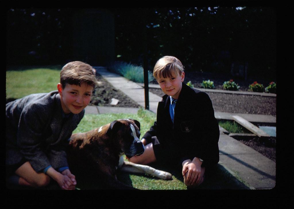 David and Ian Burns With Kurt 1966