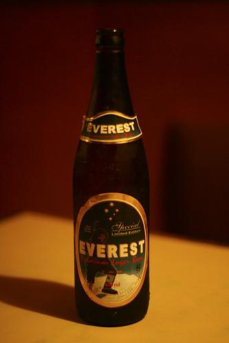 bière everest népal