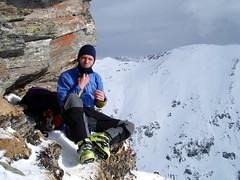 Sonne im Windschatten (xrotwang) Tags: skitour rauris mitdiet jahr2010 silberpfennig kolmkarspitz
