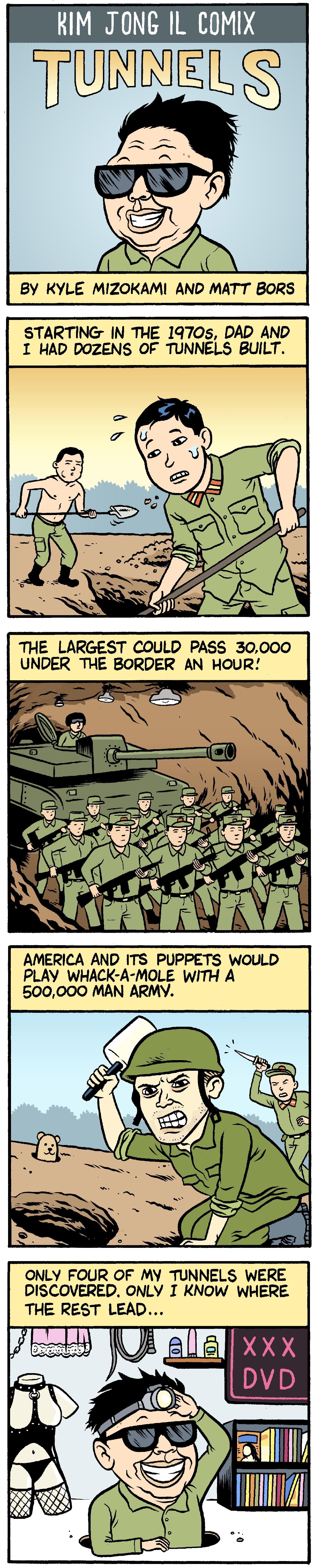 Kim Jong Il Comix #1