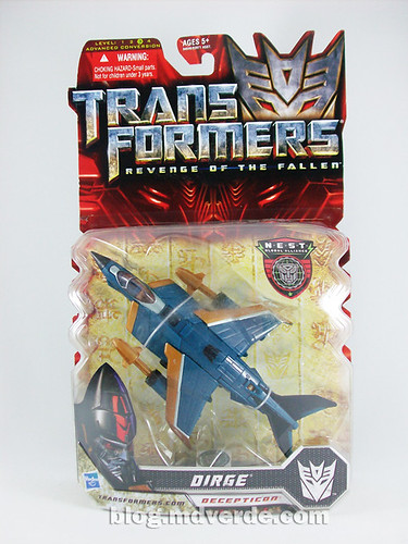 Transformers Dirge Deluxe RotF NEST - caja